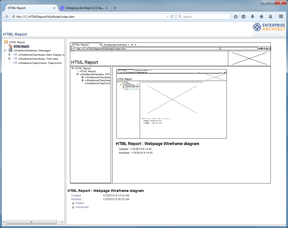 model publishing enterprise architect user guide rh sparxsystems com au Website Wireframe Diagram Wireframe Diagram for a Store