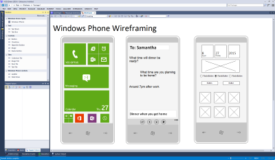 Windows Phone Wireframes